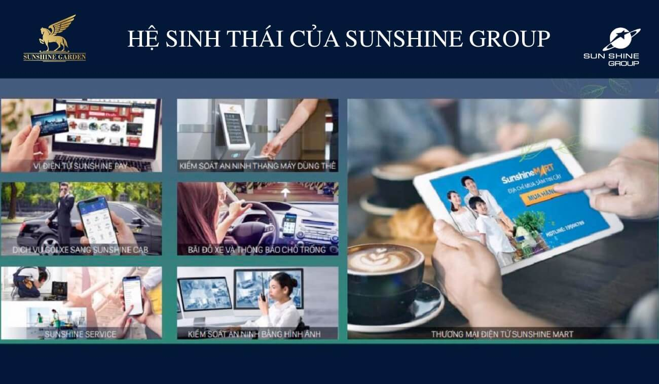 Hệ sinh thái của Sunshine Group